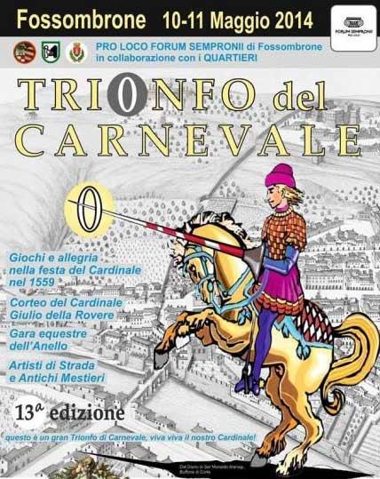 Trionfo del Carnevale a Fossombrone