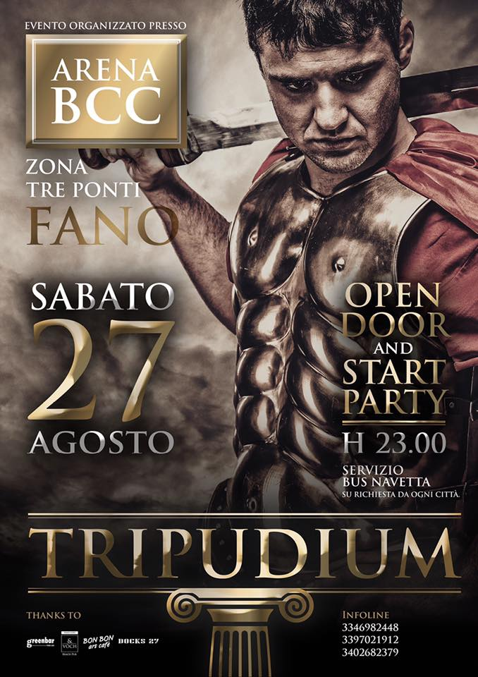 Tripudium all'Arena BCC a Fano