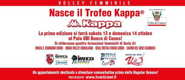 Trofeo Kappa al Pala Ubi Banca di Cuneo