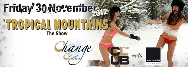"""Tropical Mountains- the Show"" al The Club Milano"