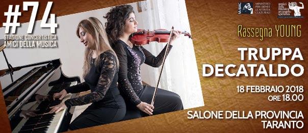 Flavia Truppa & Cinzia Decataldo al Salone della Provincia di Taranto