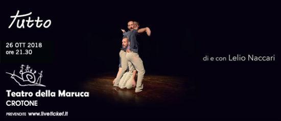 Tutto al Teatro della Maruca a Crotone
