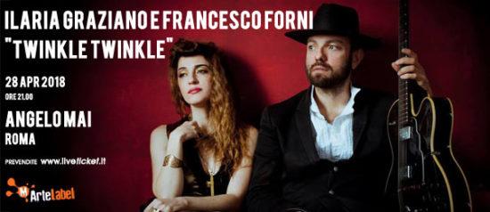 "Ilaria Graziano e Francesco Forni ""Twinkle Twinkle"" all'Angelo Mai di Roma"