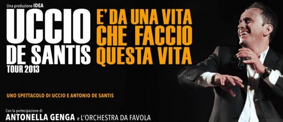 Uccio De Santis al Teatro Santa Lucia di Gioia del Colle