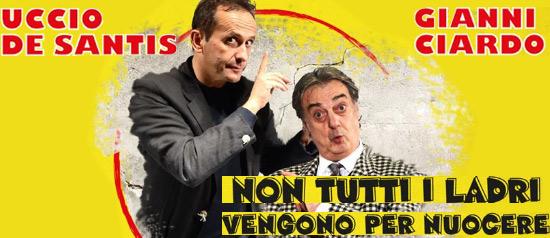 Non tutti ladri vengono per nuocere al Teatro Santa Lucia di Gioia del Colle