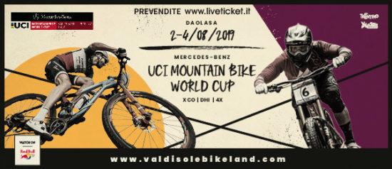 UCI Mountain Bike World Cup Val di Sole Trentino 2019