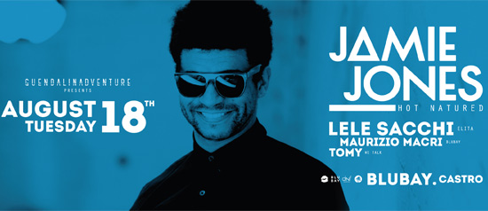 Jamie Jones - BluBay a Castro