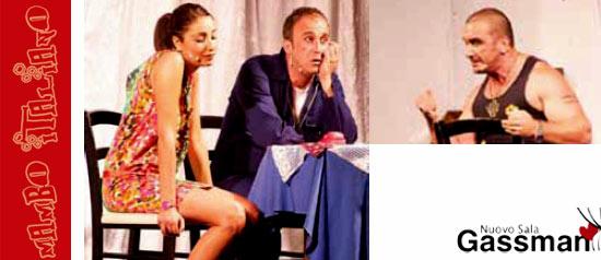 Un pò più su se non mi vedi al Teatro Nuova Sala Gassman di Civitavecchia