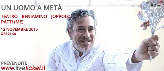 """""""Un uomo a metà"""" al Teatro Beniamino Joppolo di Patti"""