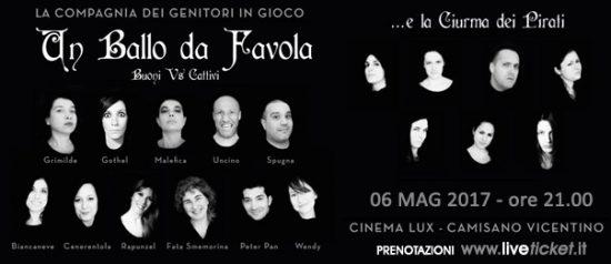 """""""Un ballo da favola"""" al Teatro Lux di Camisano Vicentino"""
