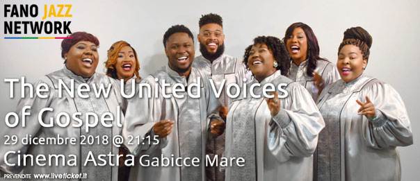 The New United Voices of Gospel al Cinema Astra a Gabicce Mare