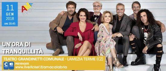 Un'ora di tranquillità al Teatro Grandinetti di Lamezia Terme