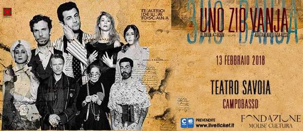 Uno zio Vanja al Teatro Savoia di Campobasso