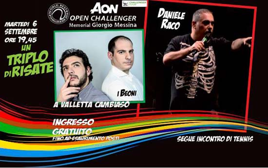 AON Open Challenger 2016 a Genova