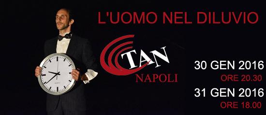 """""""L'uomo nel diluvio"""" al Teatro Area Nord di Napoli"""