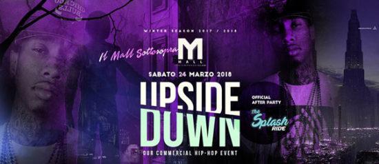 Upside Down al Mall Club di Rescaldina