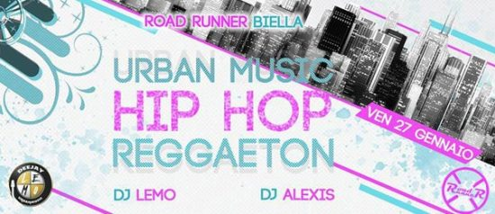 Urban Music al Road Runner di Biella
