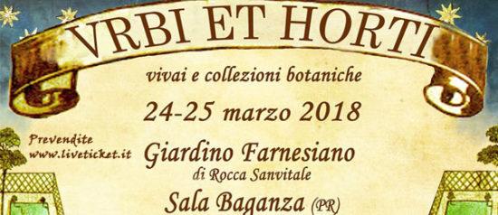 Urbi et Horti Giardino Farnesiano di Rocca San Vitale - Sala Baganza (PR)