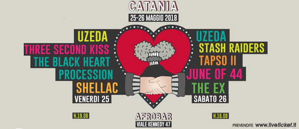 Uzeda 30th all'Afrobar di Catania