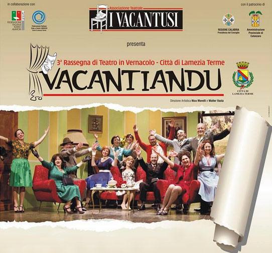 Vacantiandu 2014 al Teatro Politeama di Lamezia Terme