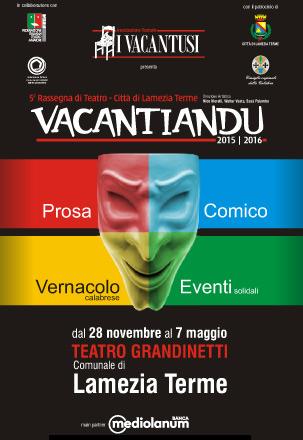 Vacantiandu 2015-2016 Città di Lamezia Terme