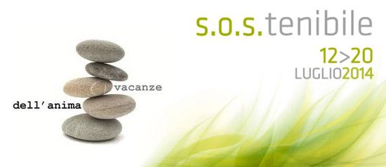"""Vacanze dell'anima """"S.O.S.tenibile"""" 2014 a Maser"""