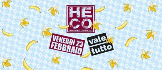 Vale tutto all'Heco - The Hedonist College di Forlì