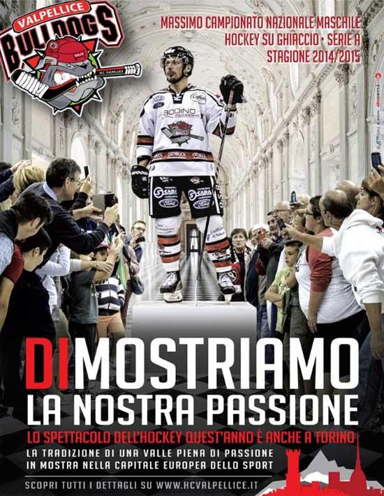 Stagione hockey sul ghiaccio Valpellice 2014-15