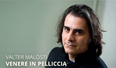 Valter Malosti in Venere in pelliccia al Teatro della Fortuna di Fano
