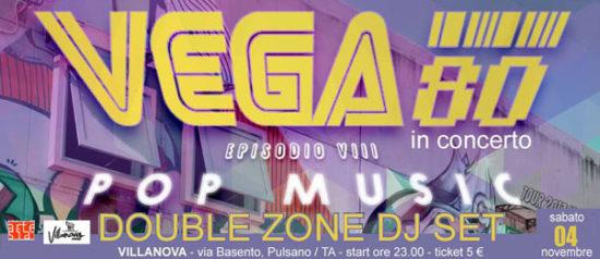 Vega80 in concerto al Villanova di Pulsano