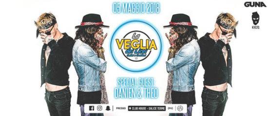 Veglia dei Licei 2018 w/ Danien & Theo al Club House a Salice Terme