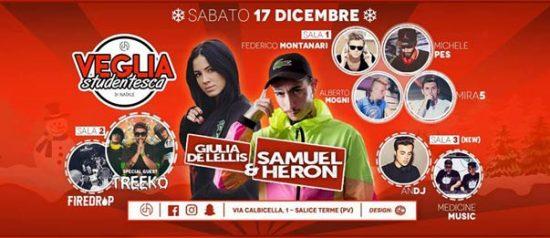 Veglia Studentesca di Natale al Club House a Salice Terme