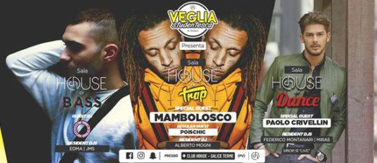 Veglia Studentesca di Pasqua 2018 w/ Paolo Crivellin, MamboLosco & more al Club House a Salice Terme