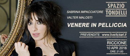 """Sabrina Impacciatore e Valter Malosti """"Venere in pelliccia"""" allo Spazio Tondelli di Riccione"""