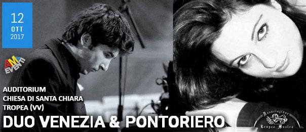 Duo Venezia & Pontoriero all'Auditorium - Chiesa di Santa Chiara a Tropea