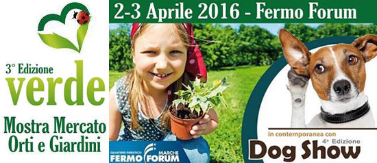 Verde - Mostra Mercato Orti e Giradini e Dog Show 2016 a Fermo