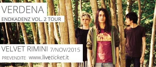 Verdena 'Endkadenz Vol.2′ Tour al Velvet di Rimini