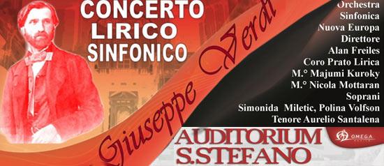 200 Giuseppe Verdi Concerto Lirico Sinfonico a Firenze