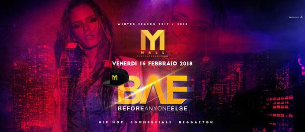 BAE w/ Vergo & BGeorge al Mall Club di Rescaldina