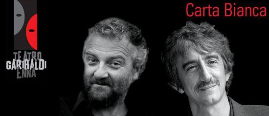 """Giovanni Veronesi e Sergio Rubini """"Lezioni di Cinema"""" al Teatro Garibaldi di Enna"""