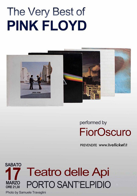 "FiorOscuro ""The very best of Pink Floyd"" al Teatro delle Api di Porto Sant'Elpidio"