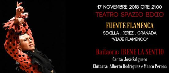 Viaje Flamenco al Teatro Spazio Bixio di Vicenza