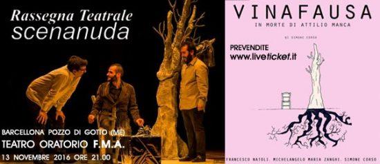 """""""Vianausa"""" al Teatro FMA di Barcellona Pozzo di Gotto"""