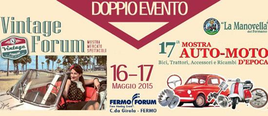 Vintage Forum e Mostra d'Auto e Moto d'Epoca a Fermo