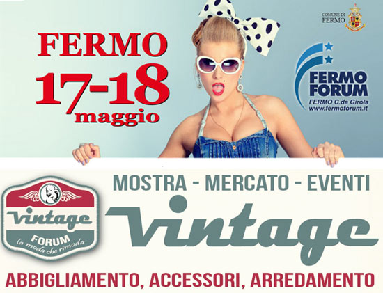 Vintage Forum, Mostra - Moda - Eventi a Fermo