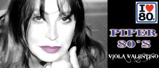 Viola Valentino al Piper Club di Viareggio