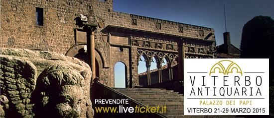 Viterbo Antiquaria al Palazzo dei Papi di Viterbo