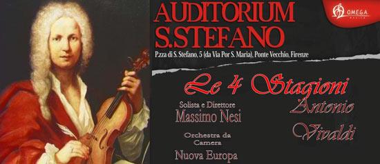 Le 4 stagioni di Antonio Vivaldi a Firenze