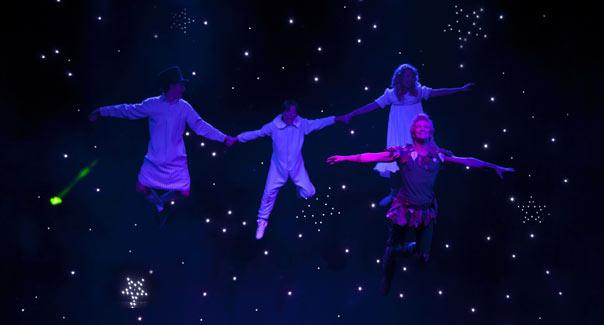 Peter Pan Il Musical al Palariviera di San Benedetto del Tronto