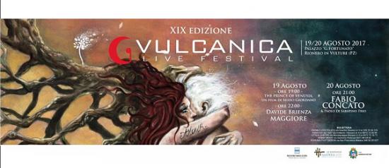 Vulcanica Live Festival 2017 al Palazzo Fortunato a Rionero in Vulture